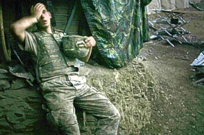 Tim Hetherington, 2007-es World Press Photo-győztes képe