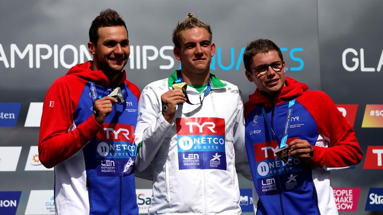 Rasovszky Kristóf nyílt vízen Európa-bajnok
