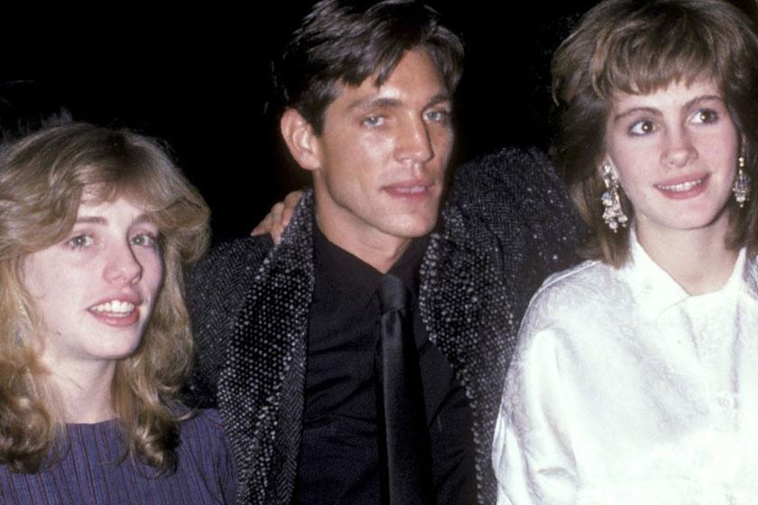Eric és Julia harmadik testvérükkel, Lisa Roberts-szel, a '80-as években.
