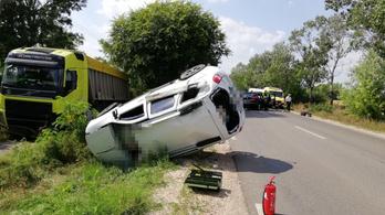 Halálos baleset történt Szarvas és Csabacsűd között