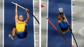 Katapultálás közben pattant el a svéd atléta rúdja