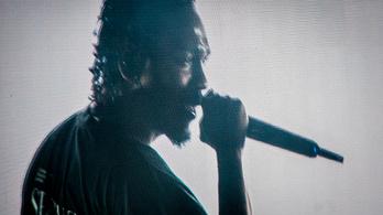 Kendrick Lamar rihannázott egyet a Szigeten