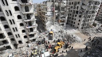 Szíriai pusztulat: eddig 388 milliárd dollárnyi veszteség