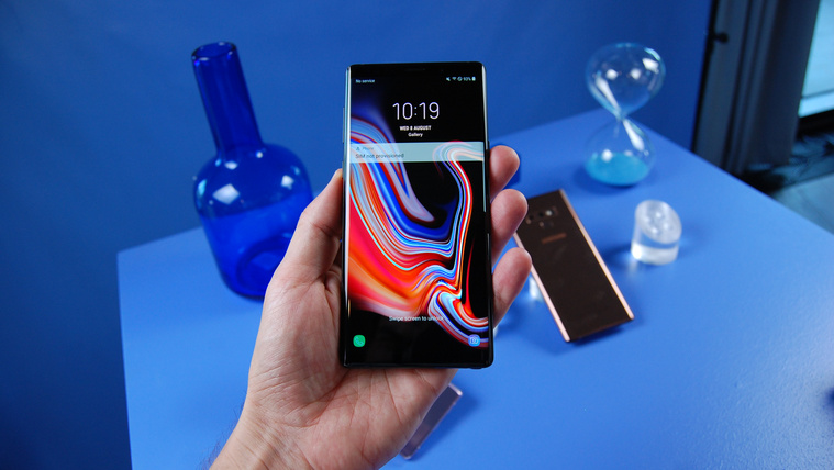 Túlnő a számítógépen a Galaxy Note 9