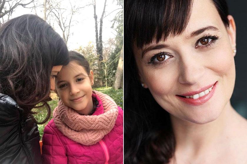 Mint két tojás! Farkasházi Réka és nagyobbik lánya, Rebeka nagyon hasonlítanak egymásra.