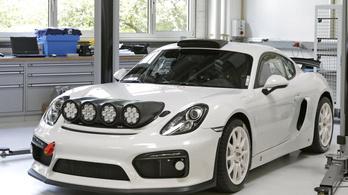 Raliba készül a Porsche?