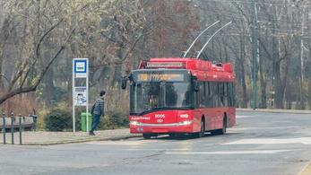 Környezetkímélő trolikra cserélik az M2A metrópótló buszokat hétvégenként