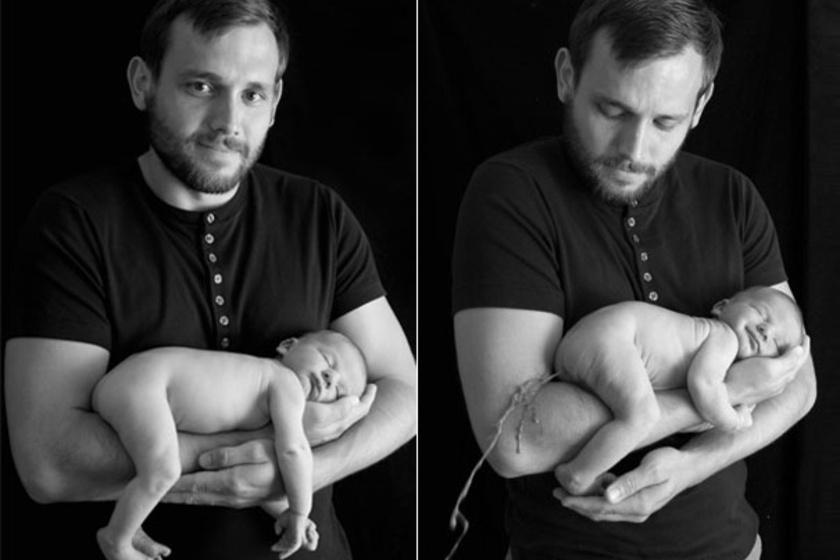 A pucér babafotózás veszélyes műfaj.