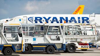 Budapesti járatokat is törölt a Ryanair