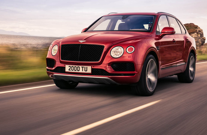bentley-Bentayga V8 - 1