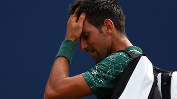 Djokovics mozdulni sem tudott a görög tinédzser okos ejtésére