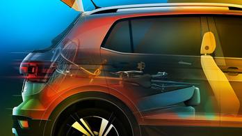 Biciklinyelő csomagtérrel promózzák a VW új crossoverét