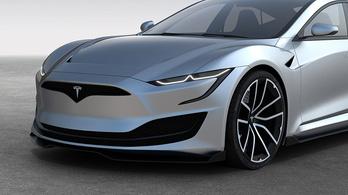 Akár ilyen is lehetne a következő Tesla Model S