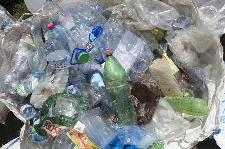 Összegyűjtött műanyaghulladék 2017-ben