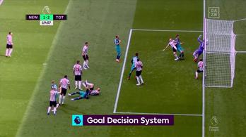 Kilenc mm-es gólt lőtt a Tottenham
