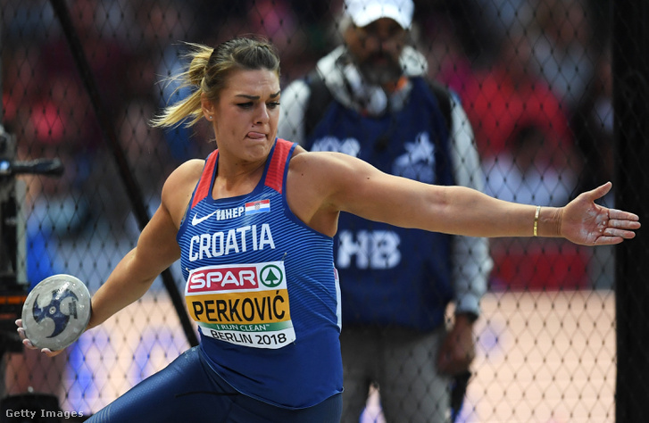 Sandra Perkovic sorozatban öt Európa-bajnokságot nyert diszkoszvetésben