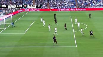 Higuaín első milanos lövéséből óriási gólt vágott a Realnak