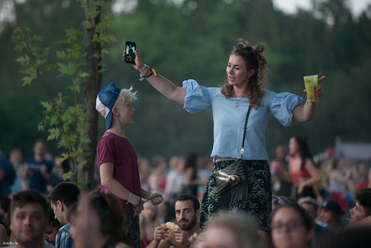 Az új-zélandi - holland anyuka azt mondja a Sziget nagyságrendekkel jobb, mint ahogy azt elképzelte, pedig eleve szupernek mesélték az ismerősei.