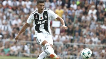 C. Ronaldo meglőtte első gólját a Juventusban