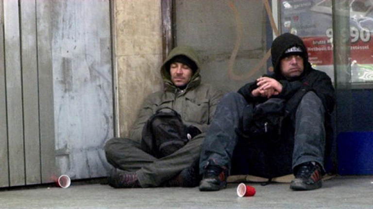 24 órát töltöttünk az utcán hajléktalanként, nem csinálnánk ilyet többet