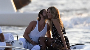 Szinte már zavarba ejtő, mennyire imádja egymást Heidi Klum és fiatal pasija