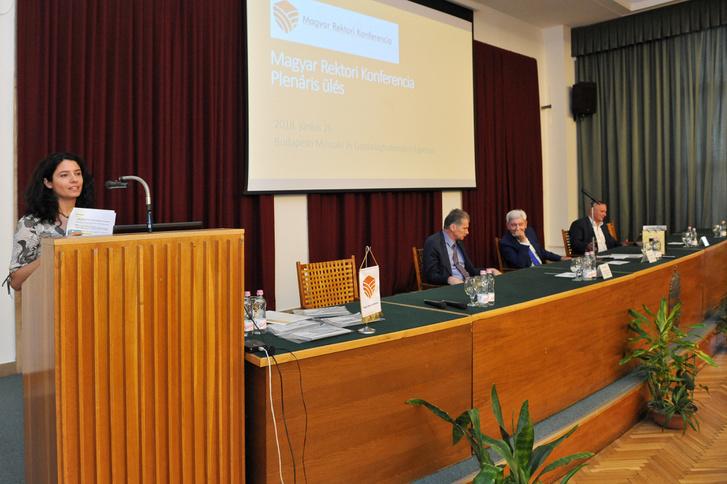 A Magyar Rektori Konferencia Plenáris ülése 2018. június 26-án