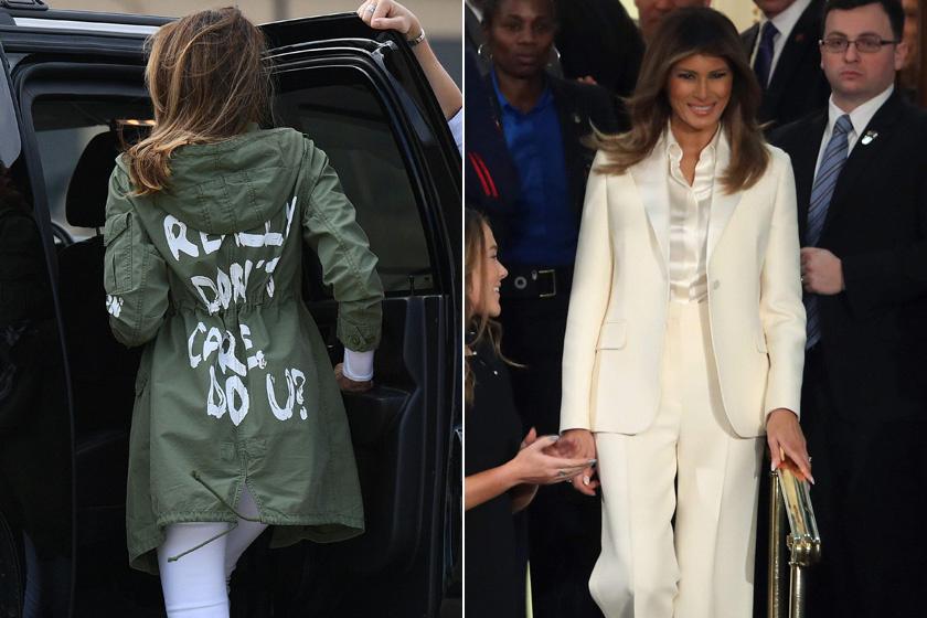 A botrányos dzseki és a Hillary Clinton-kosztüm.