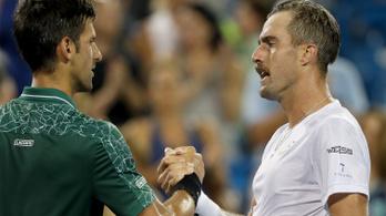 A Djokovićot megizzasztó teniszező az év elkapásával is szórakoztatott