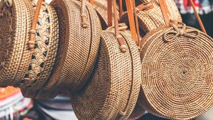 Raffia vagy szalma: így vált óriási divattá a fonott táska