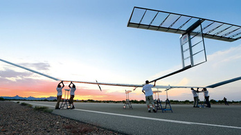 Rekordideig repült az Airbus napelemes drónja