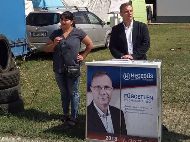Hegedűs Péter független jelöltként indult a polgármesteri székért