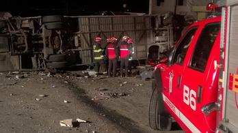 Súlyos baleset történt Ecuadorban, 24 halott