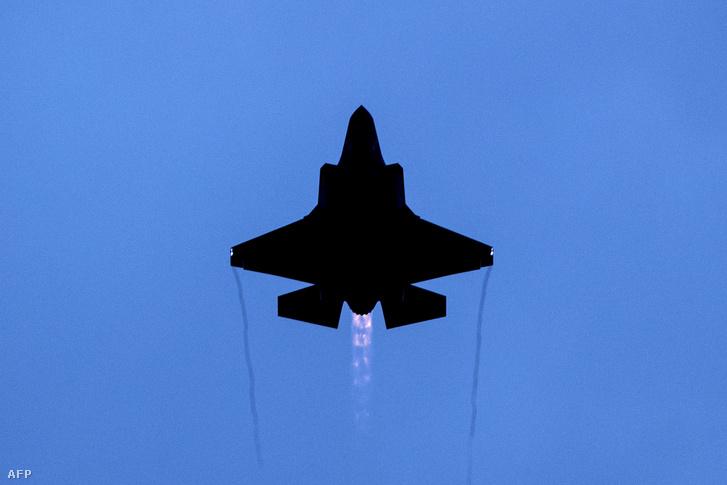 Egy F-35 vadászgép