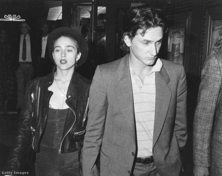 Madonna és Sean Penn (1987)