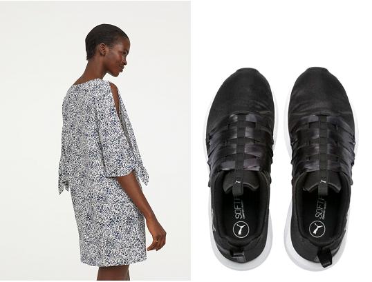 Lenge nyári ruha sportcipővel: te hordod így? Dívány