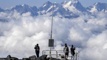 Északra vándorol az Alpok