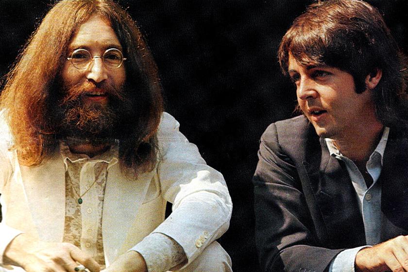 Közös fotón John Lennon és Paul McCartney fia - Elképesztően hasonlítanak híres szüleikre