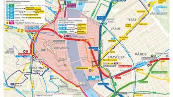 Nem lesz egyszerű közlekedni Budapesten az augusztus 20-i hosszú hétvégén