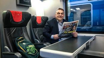 Magángéppel utazott Orbán a bolgár Vidi-meccsre