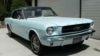 Majdnem bontóba került a legelső Ford Mustang
