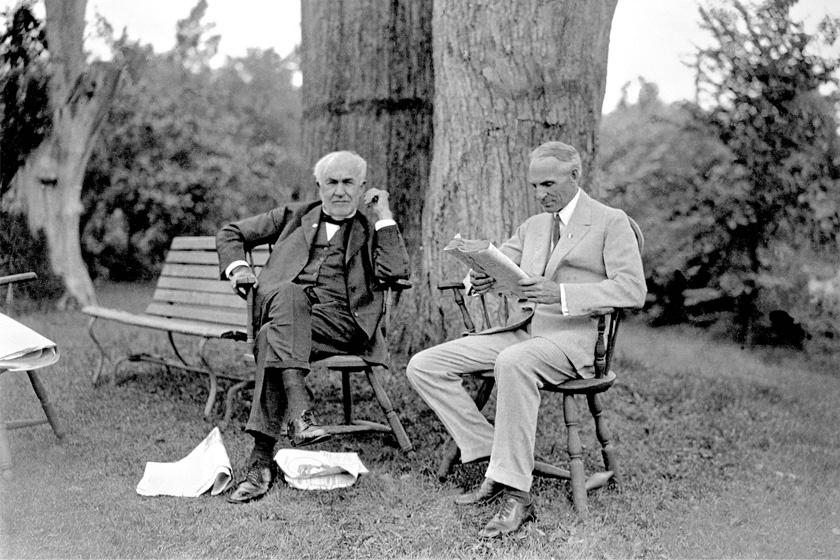 Edison és Ford.
