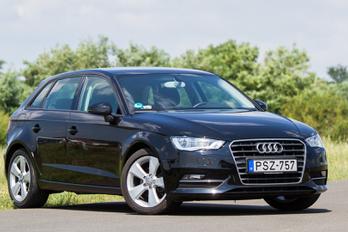 Új Audi, féláron, valaki?