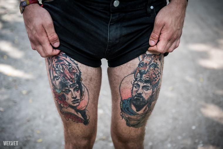 Ha az ember a Szigeten járkál, nem tudja nem észrevenni, mennyi tetovált ember van és milyen baromi érdekes mintákat varratnak magukra egyesek