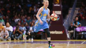 WNBA-rekordot döntött a magyar válogatott irányító