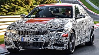 Gyári ízelítő az új 3-as BMW-ből