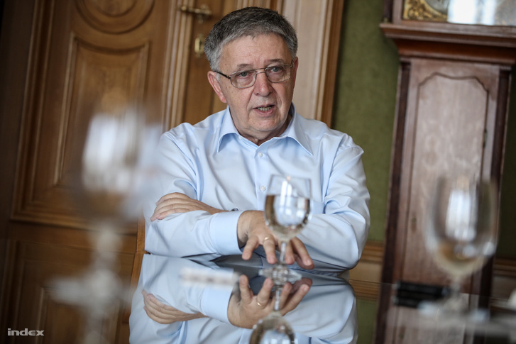 Lovász László az MTA elnöke