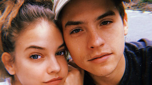 Palvin Barbara már Magyarországra is elhozta Dylan Sprouse-t