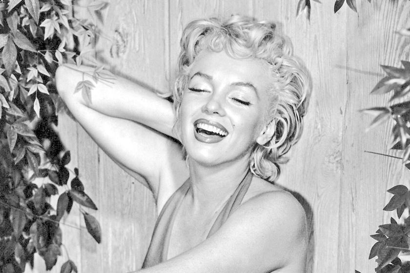 Marilyn Monroe meztelenül: 57 év után került elő a felvétel