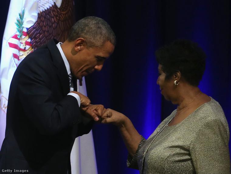 Aretha Franklin három amerikai elnök beiktatásán is énekelt: Jimmy Carterén, Bill Clintonén és Barack Obamáén