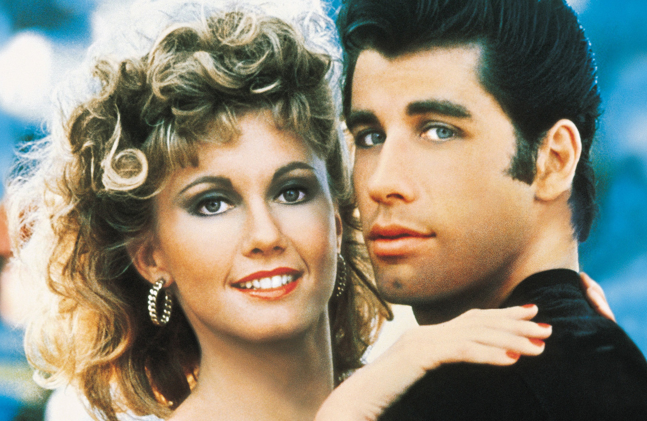 grease-40-eve-john-travolta-olivia-newton-john-cover